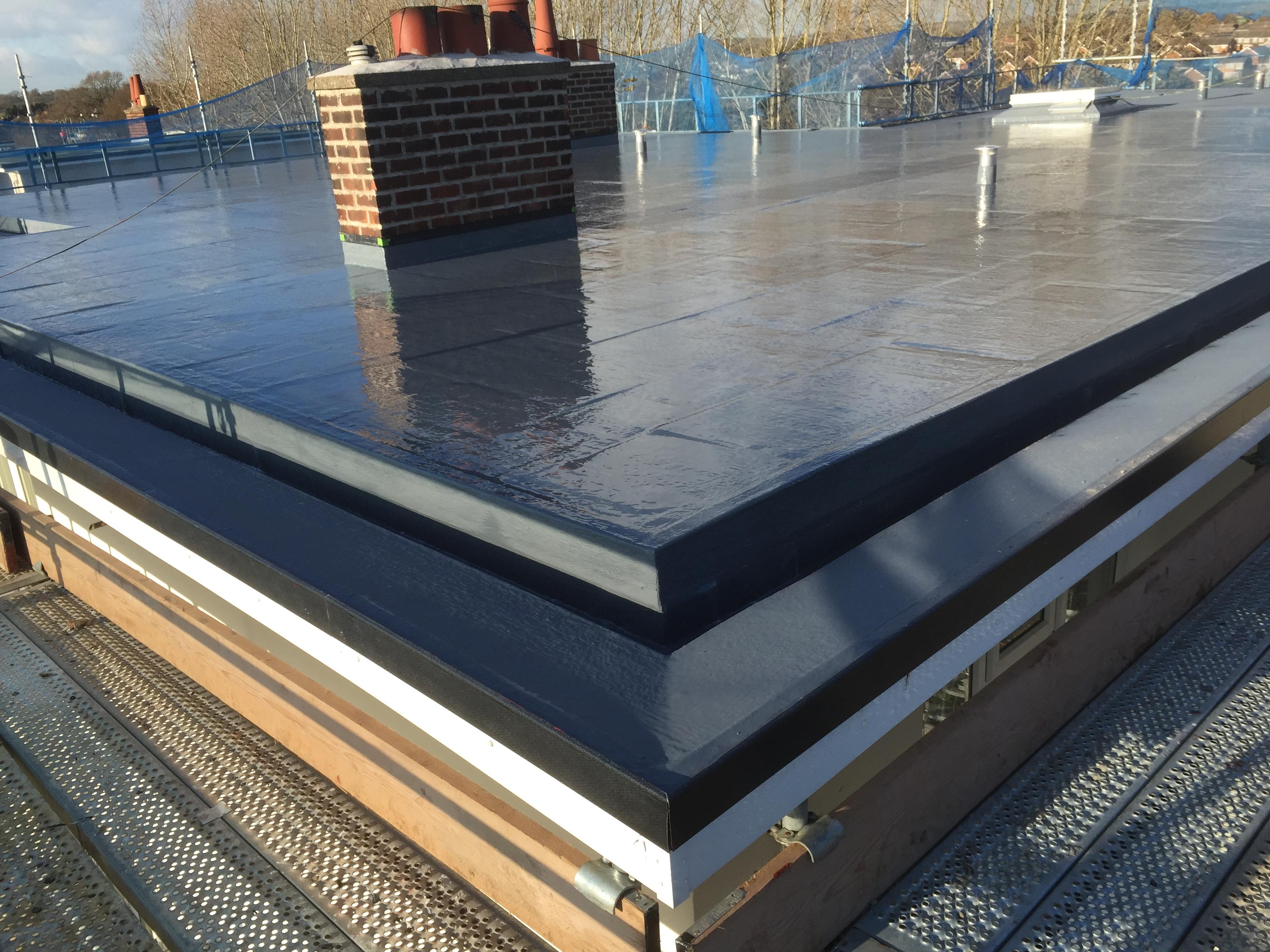 Flat Roof Liquid Membrane